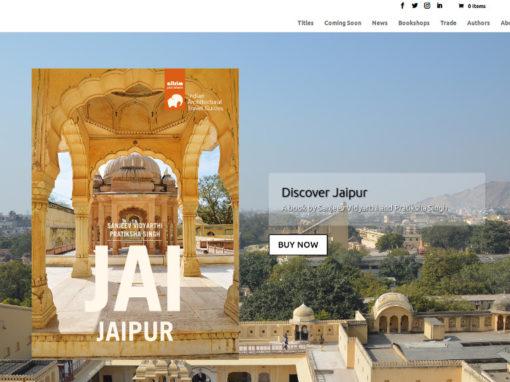 Web corporativa per empresa de venda de llibres online