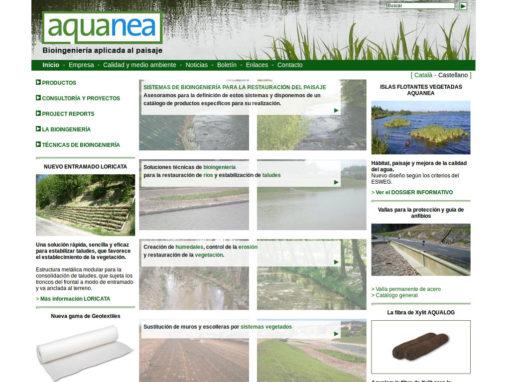 Web corporativa per a empresa de bioenginyeria de paisatges