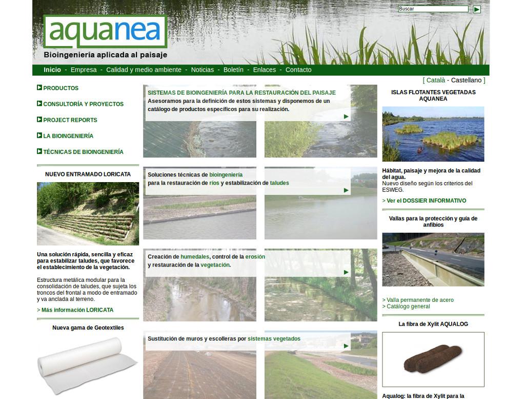 aquanea bioingenieria paisajes