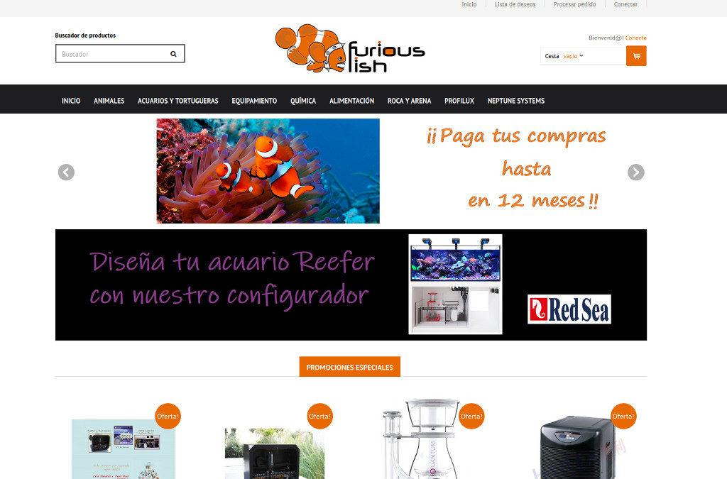 eCommerce online para tienda de animales