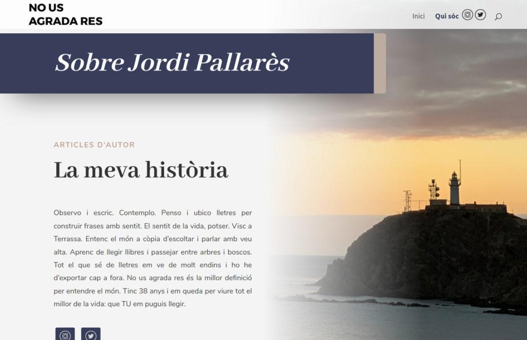 web blog escriptor jordi pallares