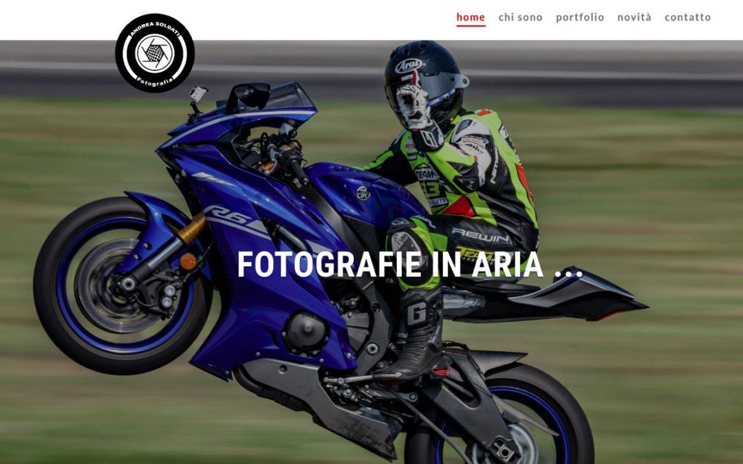 Web per a fotògraf de carreres del motor